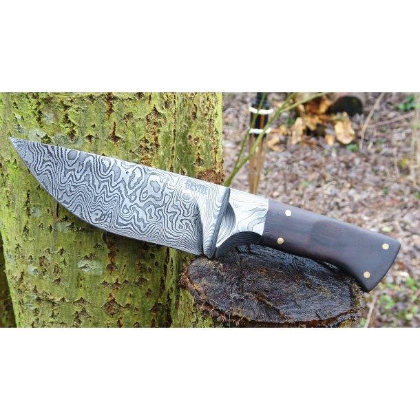 Damascus Hunting knife - Handmade - Made on ordre